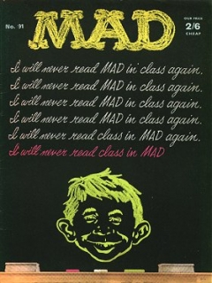 Go to MAD Magazine #91 • Great Britain