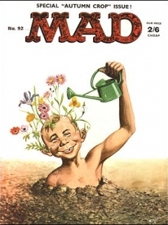 Go to MAD Magazine #92 • Great Britain