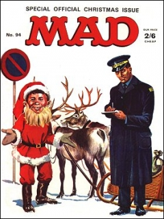 Go to MAD Magazine #94 • Great Britain