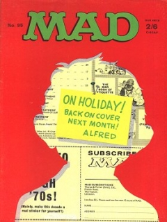 Go to MAD Magazine #95 • Great Britain