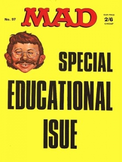 Go to MAD Magazine #97 • Great Britain