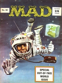 Go to MAD Magazine #98 • Great Britain