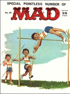Go to MAD Magazine #99 • Great Britain
