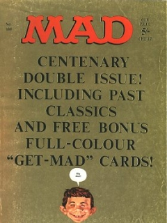 Go to MAD Magazine #100 • Great Britain