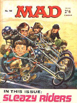 MAD Magazine #102 • Great Britain