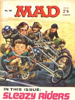 Go to MAD Magazine #102 • Great Britain