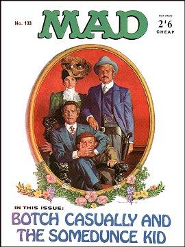 MAD Magazine #103 • Great Britain