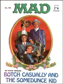 Go to MAD Magazine #103 • Great Britain