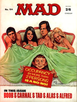 MAD Magazine #104 • Great Britain