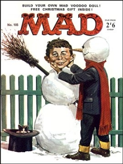 Go to MAD Magazine #105 • Great Britain
