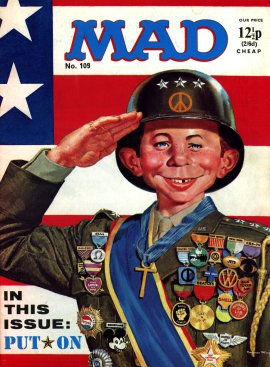 MAD Magazine #109 • Great Britain