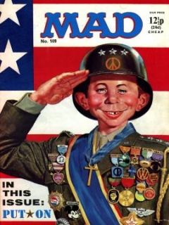 Go to MAD Magazine #109 • Great Britain