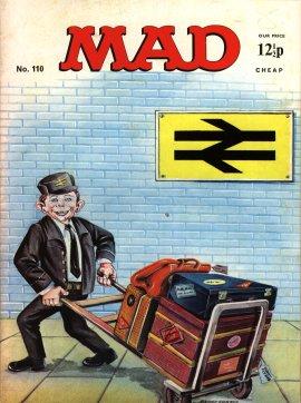 MAD Magazine #110 • Great Britain
