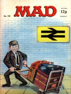 Go to MAD Magazine #110 • Great Britain