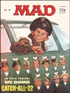 Go to MAD Magazine #111 • Great Britain
