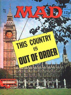 MAD Magazine #113 • Great Britain