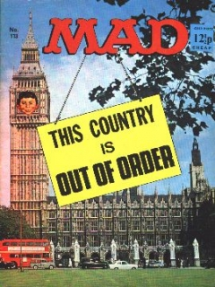 Go to MAD Magazine #113 • Great Britain