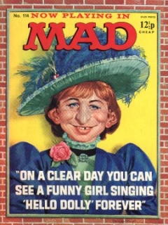 Go to MAD Magazine #114 • Great Britain