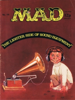 Go to MAD Magazine #115 • Great Britain