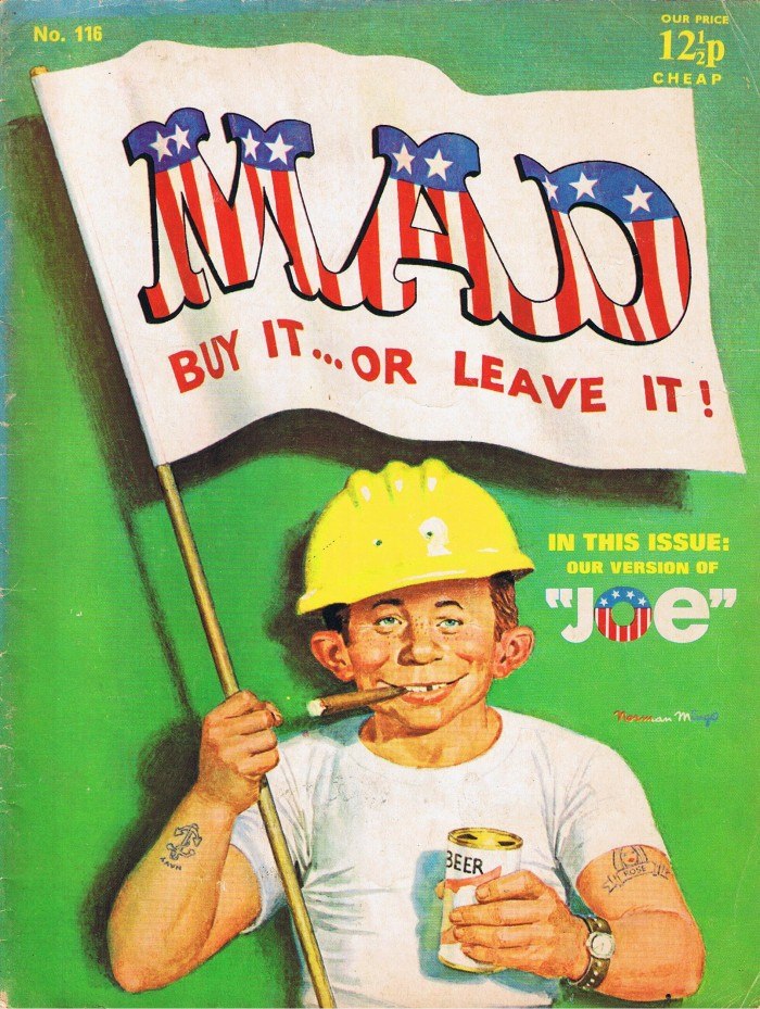 MAD Magazine #116 • Great Britain