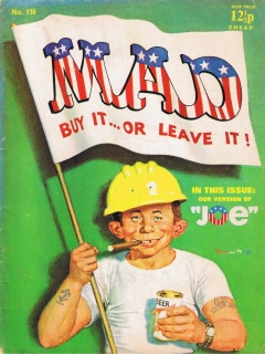 Go to MAD Magazine #116 • Great Britain