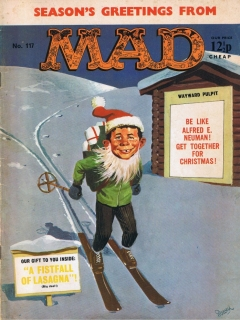 Go to MAD Magazine #117 • Great Britain