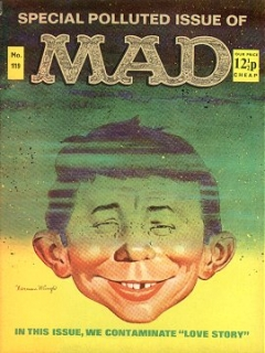 Go to MAD Magazine #119 • Great Britain