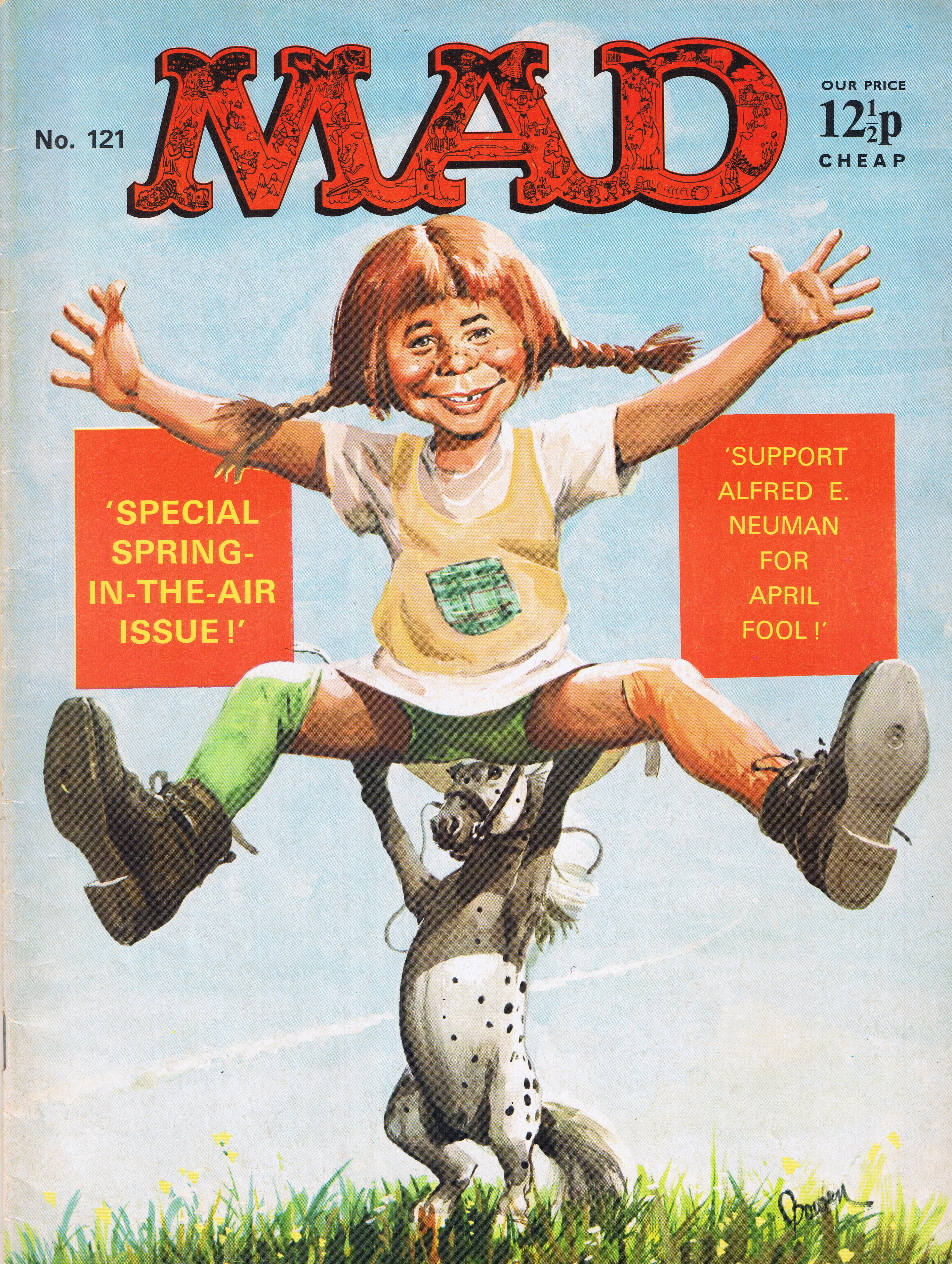 MAD Magazine #121 • Great Britain