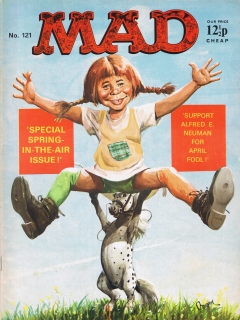 Go to MAD Magazine #121 • Great Britain