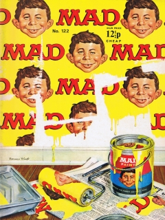 Go to MAD Magazine #122 • Great Britain