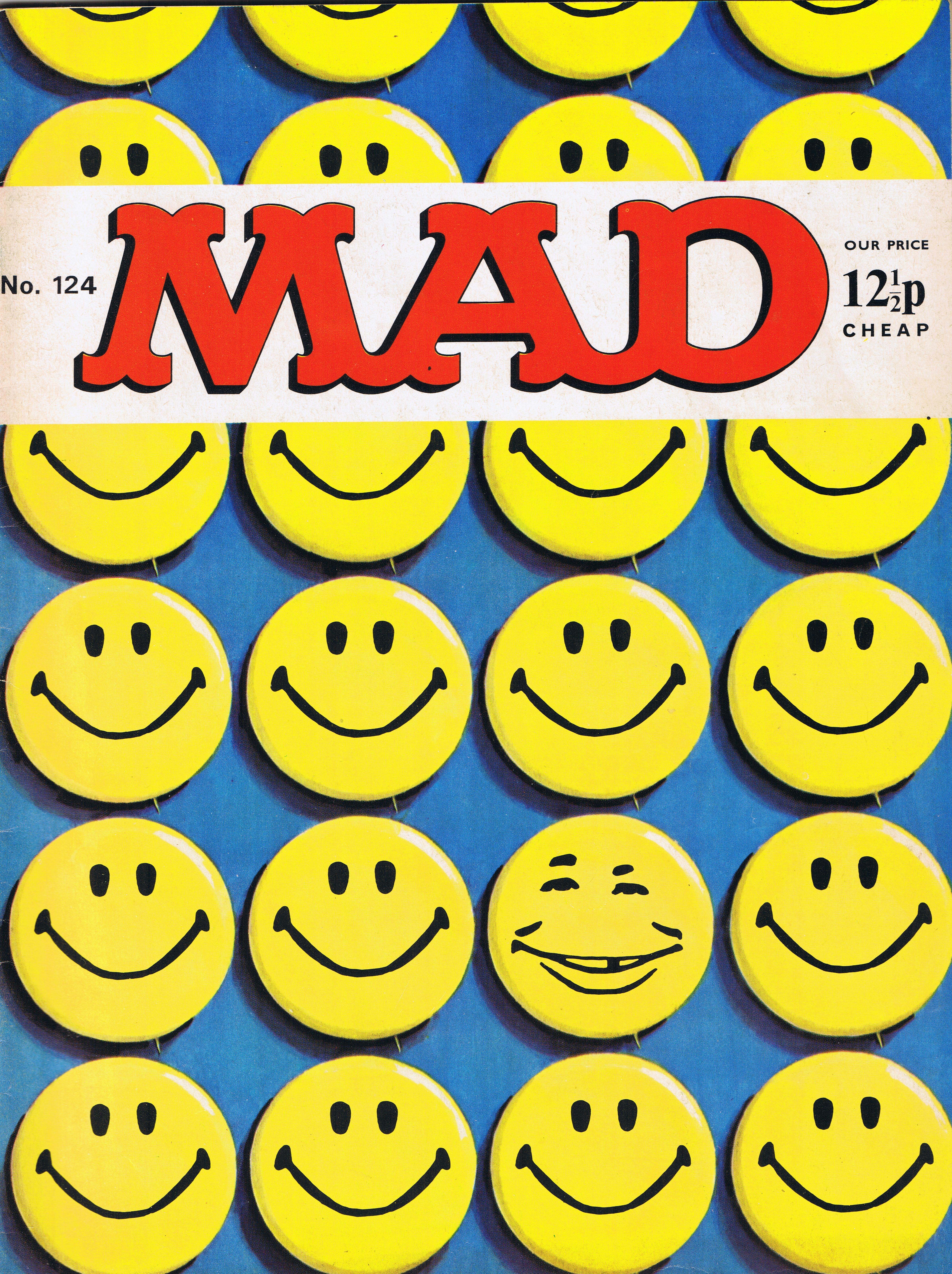 MAD Magazine #124 • Great Britain