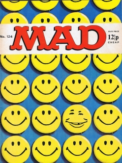 Go to MAD Magazine #124 • Great Britain