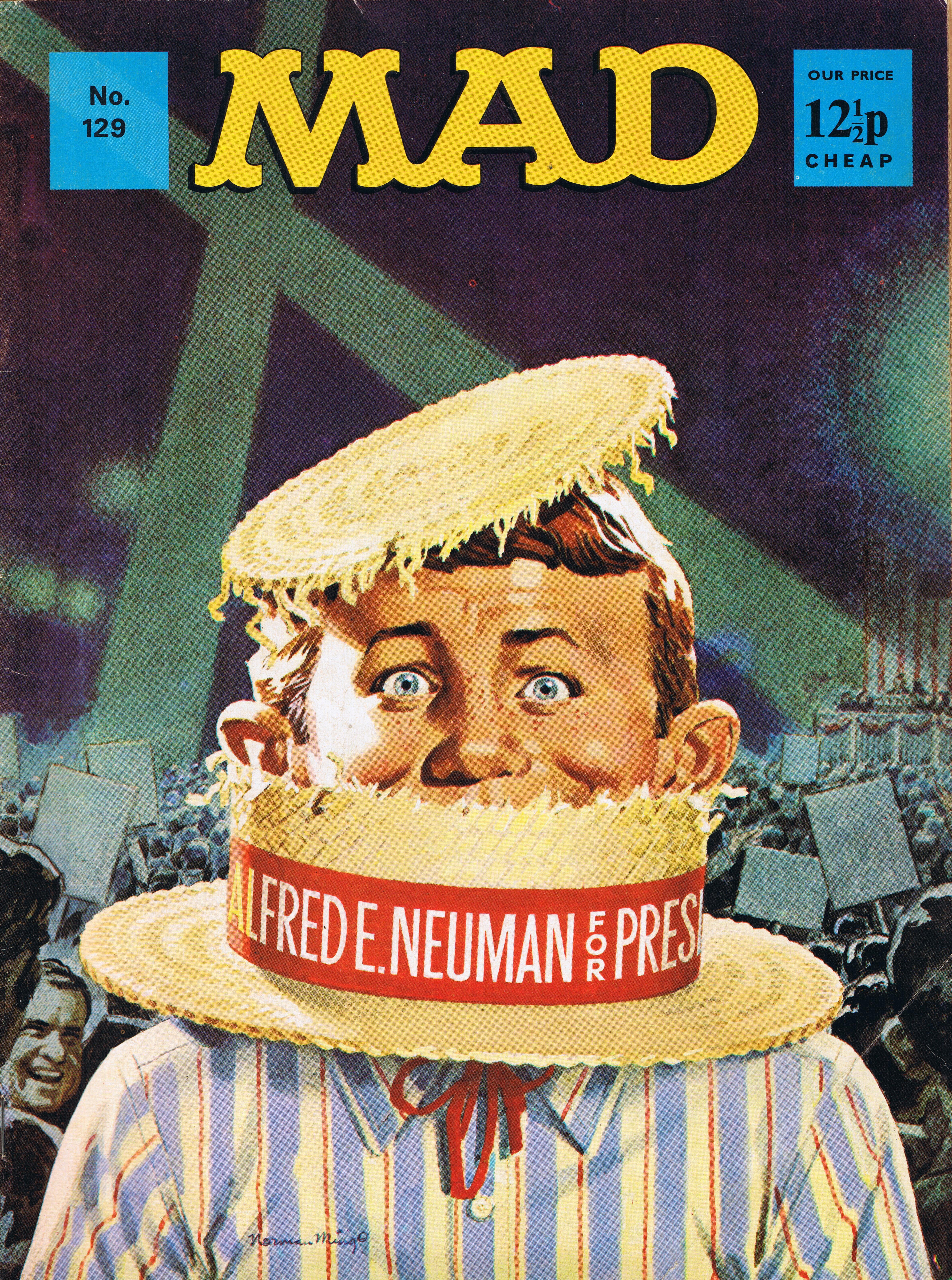 MAD Magazine #129 • Great Britain
