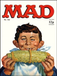 Go to MAD Magazine #130 • Great Britain