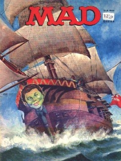 Go to MAD Magazine #132 • Great Britain