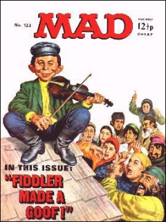 Go to MAD Magazine #133 • Great Britain