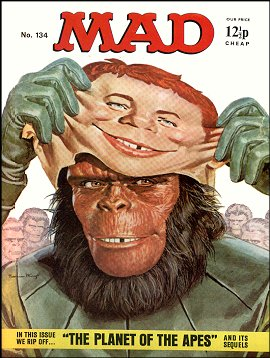 MAD Magazine #134 • Great Britain