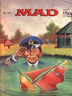 Go to MAD Magazine #135 • Great Britain