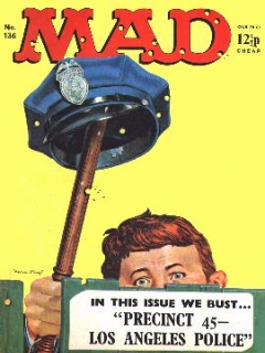 Go to MAD Magazine #136 • Great Britain