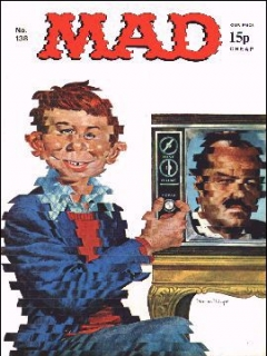 Go to MAD Magazine #138 • Great Britain
