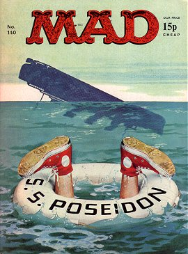MAD Magazine #140 • Great Britain