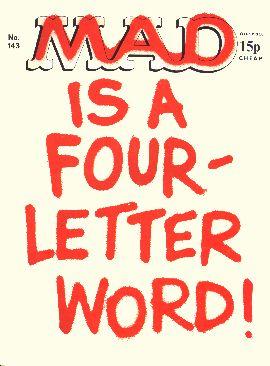 MAD Magazine #143 • Great Britain