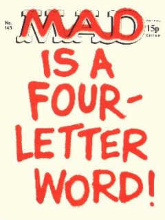 Go to MAD Magazine #143 • Great Britain
