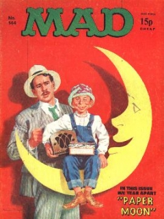 Go to MAD Magazine #144 • Great Britain