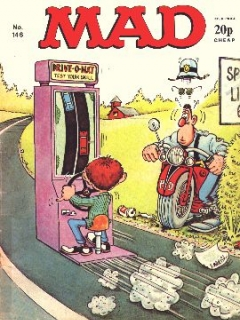 Go to MAD Magazine #146 • Great Britain