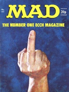Go to MAD Magazine #147 • Great Britain
