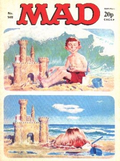 Go to MAD Magazine #148 • Great Britain