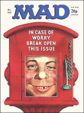 MAD Magazine #149 • Great Britain