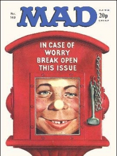 Go to MAD Magazine #149 • Great Britain