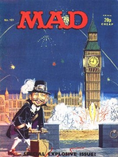 Go to MAD Magazine #151 • Great Britain